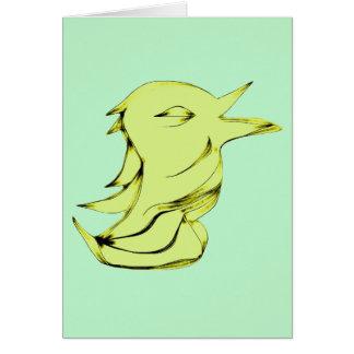 Alien Bird Card
