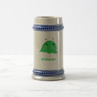 Alien blob beer stein