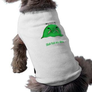 Alien blob dog tee