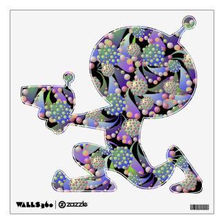"Alien Blossom & Spore ""Alien Shooting"" Wall Decal"