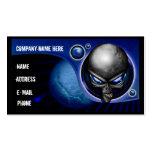 Alien Blue Business Card