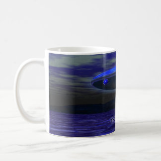 Alien Blue Coffee Mug