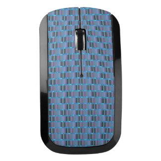 Alien Blue Stripe - Wireless Mouse