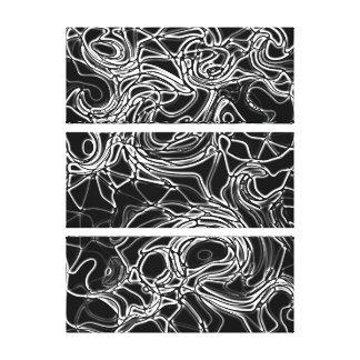 Alien Bones Structure Canvas Print