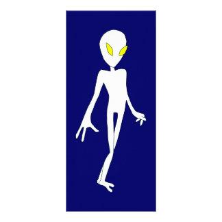 Alien Bookmark Rack Card