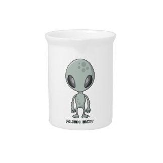 Alien Boy Beverage Pitcher