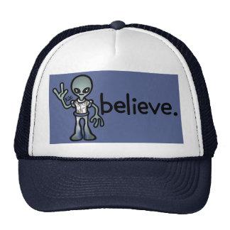 alien brain bucket. trucker hat