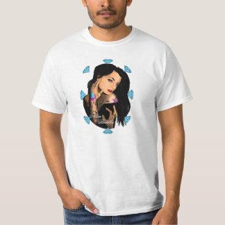 Alien Buddha Diamond Girl T-Shirt