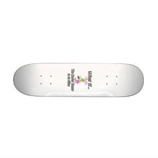 alien bunny skate board decks