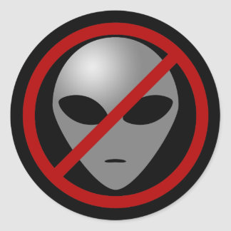 Alien Busters Sticker
