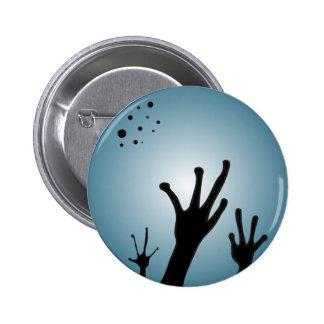 Alien Button Science Fiction Extra Terrestrial
