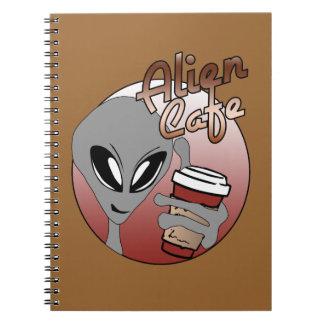 Alien Cafe Notebook