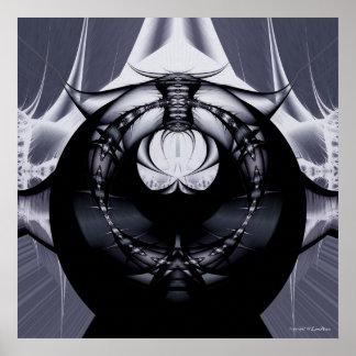 Alien Capsule Poster