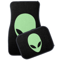 Alien Car Mat