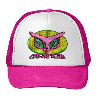 Alien Cat Big Dot Mesh Hat