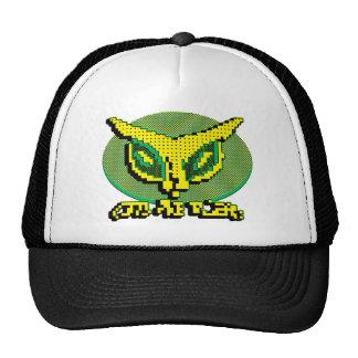 Alien Cat Big Dot Trucker Hats