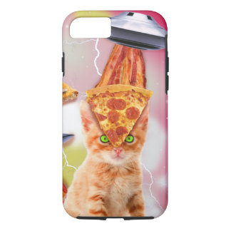 alien cats and the ufos iPhone 8/7 case