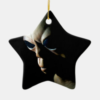 Alien Ceramic Ornament