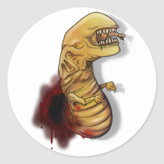Alien ChestBurster Sticker