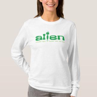 Alien Christian hoodie (white)