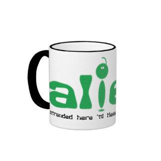 Alien Christian mug
