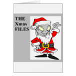 alien christmas greeting cards