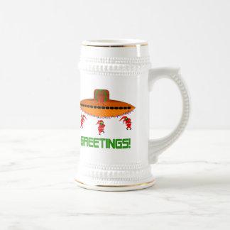 Alien Christmas Mugs