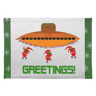 Alien Christmas Placemat