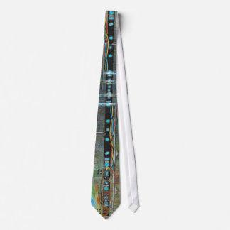 Alien Circuitry Tie