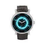 Alien Clock Face Wristwatch