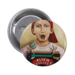 Alien Cookies finished painting Button