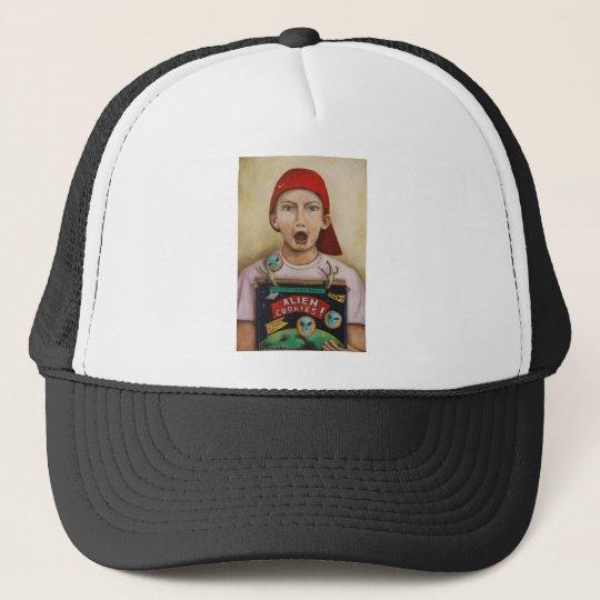 Alien Cookies Trucker Hat