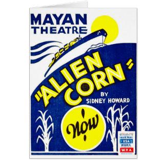 Alien Corn 1938 Card