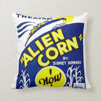 Alien Corn 1938 Pillow