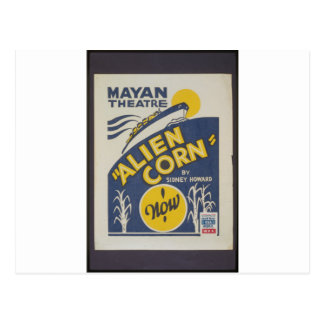 Alien Corn 1938 Post Cards