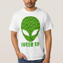 Alien Cover Up T-Shirt