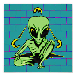 Alien Coverup Poster