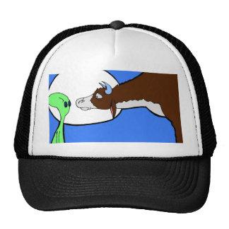 Alien Cow Trucker Hat