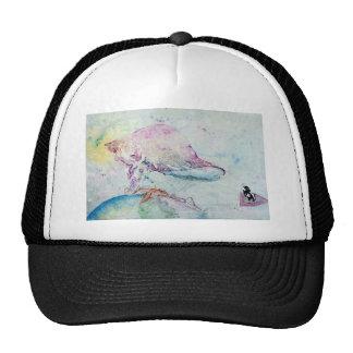 Alien Cow Innoculates Earth Trucker Hat