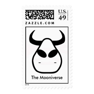 Alien Cow, The Mooniverse Postage Stamp