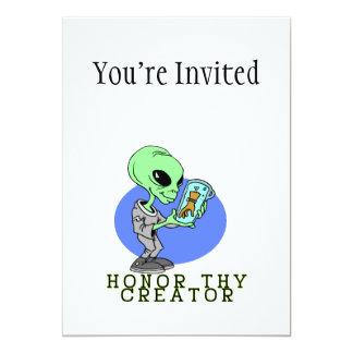 Alien Creator Card