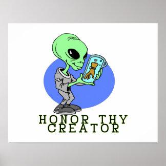 Alien Creator Posters