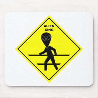 Alien Crossing Mousepad