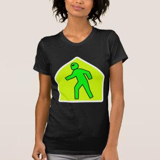 Alien Crossing Tee Shirts