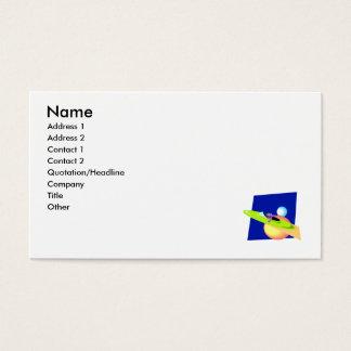 Alien Cruising By Business Card