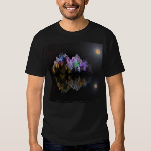 Alien Crystal Mountain and Lake Shirts