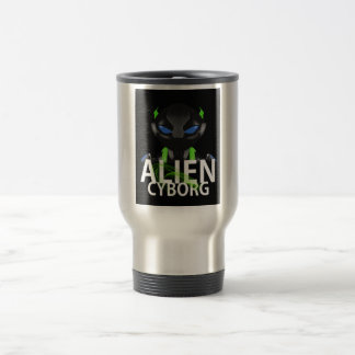 ALIEN CYBORG TRAVEL MUG