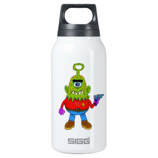 Alien Cyclops Beasty Insulated Water Bottle