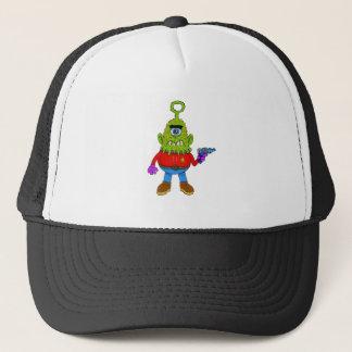 Alien Cyclops Beasty Trucker Hat