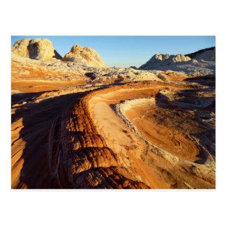 Alien Desert Landscape Postcard